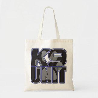 警察K9の単位の足のプリント トートバッグ