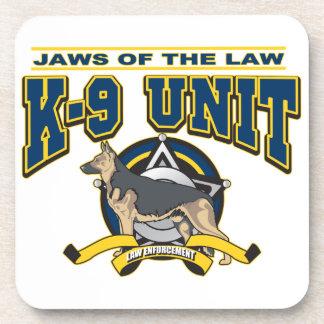 警察K-9の単位 コースター