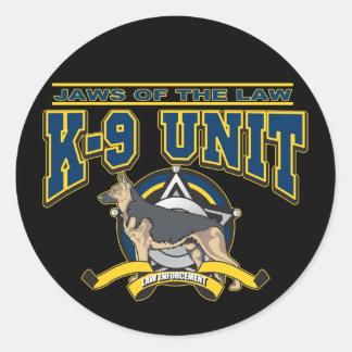 警察K-9の単位 ラウンドシール