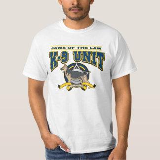 警察K-9の単位 Tシャツ