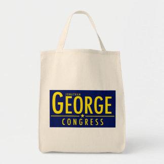議会のオーガニックな買い物袋のためのジョージ トートバッグ