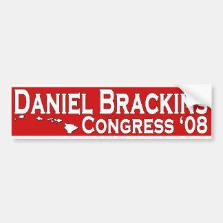 議会のバンパーステッカーのためのダニエルBrackins バンパーステッカー