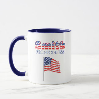 議会の愛国心が強い米国旗のデザインのためのスミス マグカップ