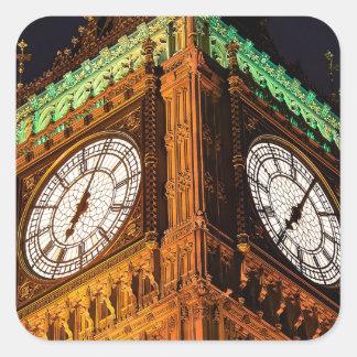 議会の時計台、ウエストミンスターの家 スクエアシール