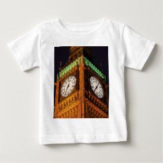 議会の時計台、ウエストミンスターの家 ベビーTシャツ