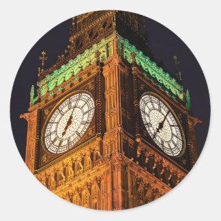 議会の時計台、ウエストミンスターの家 ラウンドシール
