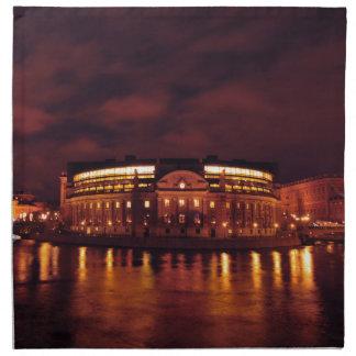 議会はストックホルム、スウェーデンで収容します ナプキンクロス