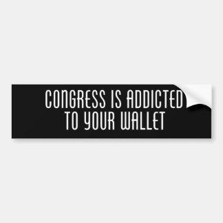 議会は常習しています バンパーステッカー