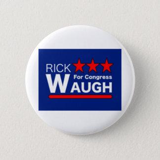 議会ボタンのためのリックWaugh 5.7cm 丸型バッジ