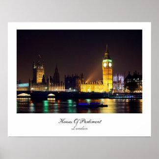 議会ロンドン統一されたなKindomの家 ポスター