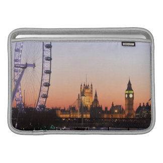 議会及びロンドンの目の家 MacBook スリーブ