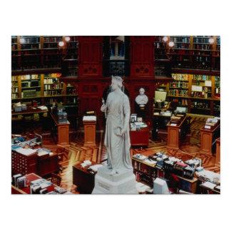 議会図書館、オタワ、オンタリオ、カナダ ポストカード