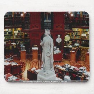 議会図書館、オタワ、オンタリオ、カナダ マウスパッド