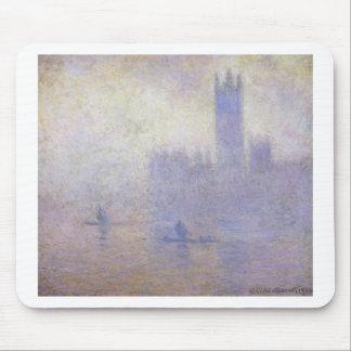 議会、クロード・モネ著霧効果の家 マウスパッド