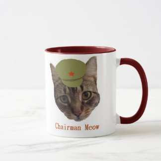議長の猫の鳴き声のマグ マグカップ