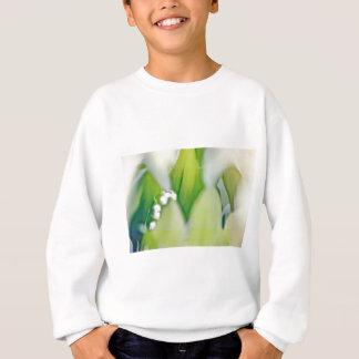 谷のスケッチのユリ スウェットシャツ