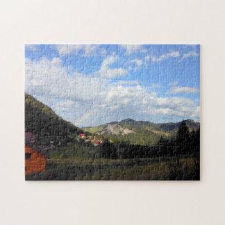 谷の実質の虹 ジグソーパズル