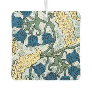 谷の花の青いユリ カーエアーフレッシュナー