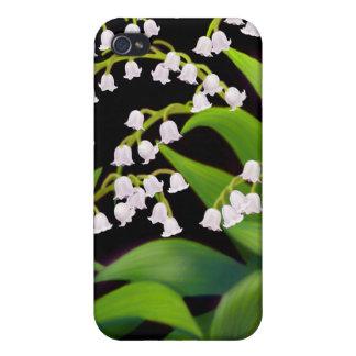 谷の花のSpeckの例のユリ iPhone 4 ケース