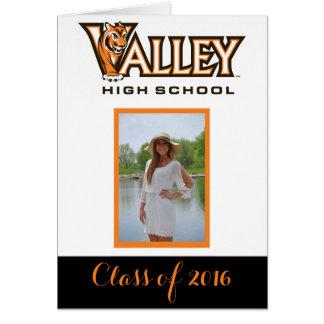 谷の高等学校のアイオワの卒業の発表 カード
