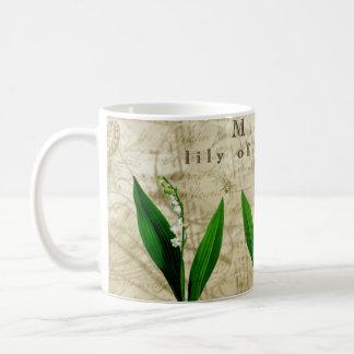 谷の5月ユリ コーヒーマグカップ