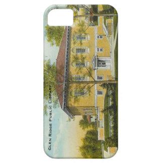 谷間のリッジの公共図書館のiPhone 5の場合 iPhone SE/5/5s ケース