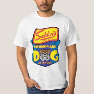 谷間のワイシャツのSahlenのChumpyard犬 Tシャツ