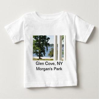 谷間の入江の子供のTシャツ ベビーTシャツ