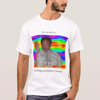 谷間は知っています Tシャツ