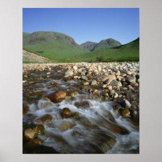 谷間Etiveの高地、スコットランド2 ポスター