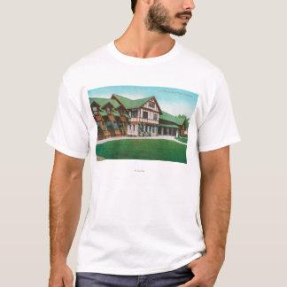 谷間TavernSantaポーラ、カリフォルニアの外観 Tシャツ