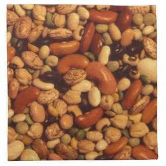 豆およびエンドウ豆 ナプキンクロス