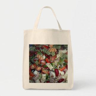 豆のパスタサラダ食料雑貨のトート トートバッグ