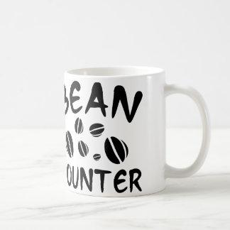 豆カウンター コーヒーマグカップ