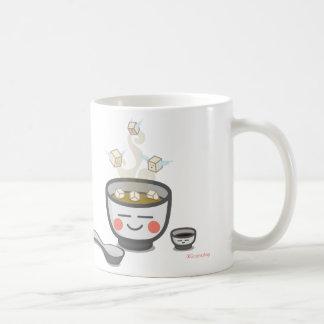 豆腐の天使のコップ コーヒーマグカップ