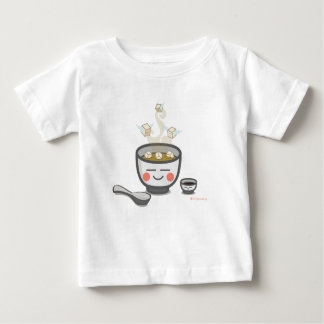 豆腐の天使のベビーのTシャツ ベビーTシャツ