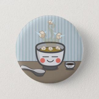 豆腐の天使のbuttom 5.7cm 丸型バッジ