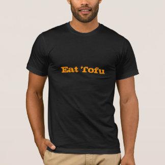 豆腐を食べて下さい Tシャツ