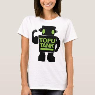 豆腐タンク菜食主義のアンドロイド Tシャツ