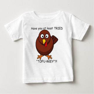 豆腐rkeyのトルコのベビーのワイシャツ ベビーTシャツ
