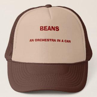 豆、Aの缶のオーケストラ キャップ