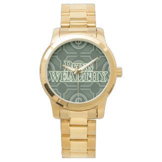 豊かがあります!  カスタムなステンレス鋼のブレスレット 腕時計