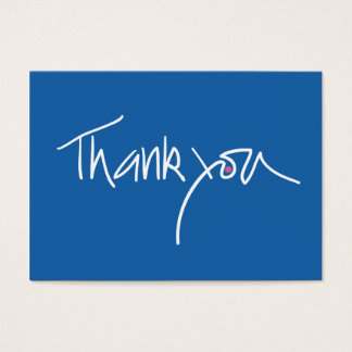 豊富で青い及びピンクの水玉模様のギフトカードありがとう 名刺