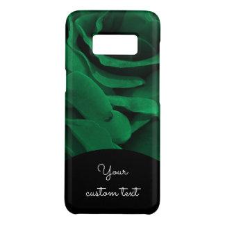 豊富なエメラルドグリーンのビロードのようなバラの花柄の写真 Case-Mate SAMSUNG GALAXY S8ケース