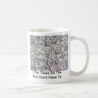 豊富なマグに課税して下さい コーヒーマグカップ