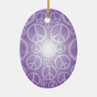 豊富な平和はプロダクトをカスタマイズ 陶器製卵型オーナメント