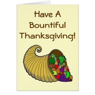 豊富な感謝祭 カード