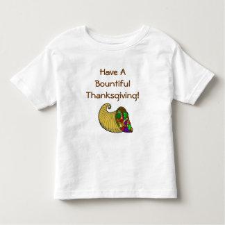 豊富な感謝祭 トドラーTシャツ