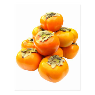 豊富な柿 ポストカード