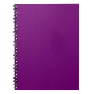 豊富な王室のな紫色(無地)の~ ノートブック